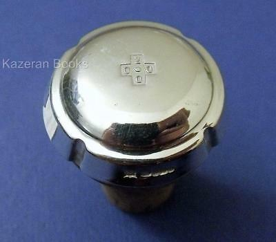 Solid Sterling Silver Hallmarked Wine Champagne Cork Cap Stopper Top Millennium