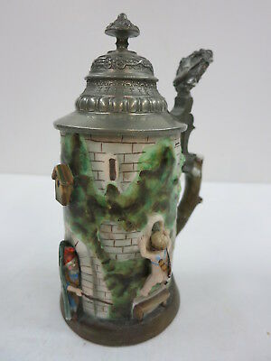 Character Beer Stein Tower Gnome Cupid M. Pauson Musterschutz Quality 100 Years