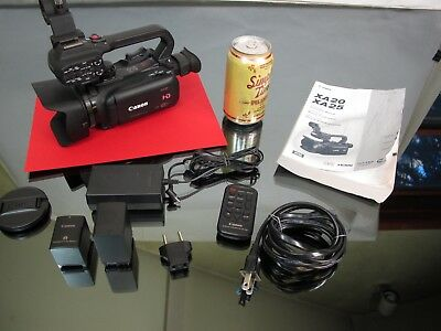 Canon XA20 Camcorder Professional High Definition Video Camera 2 Batteries