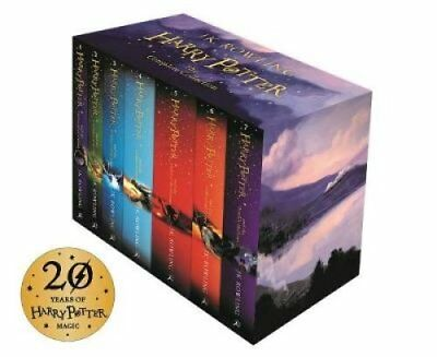 Harry Potter Box Set: The Complete Collection Children's Paperback 9781408856772