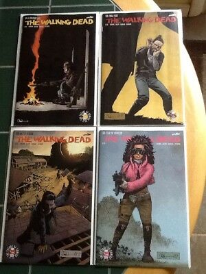 Four (4) The Walking Dead Image Comics Issues 171,172,173,174