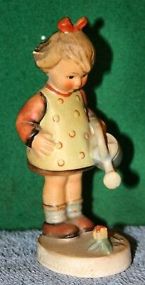 Vintage Hummel Figure No 74 - Little Gardner, Girl with Watering Can and Flowers