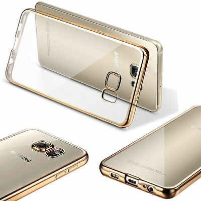 Ultra Thin Clear Crystal Soft TPU Case Cover for Samsung Galaxy S7 edge