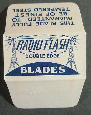 Vintage Made in USA Razor Blade RADIO FLASH