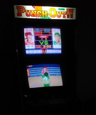 Nintendo Punch Out arcade game