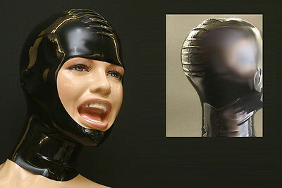 "----- LATEXTIL ----- Latexmaske ""DiverPur"" ""ohne Zipper"" ""without zip"" -NEU-"