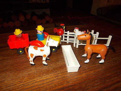 Vintage Fisher Price Little People Farm Western Lot #2