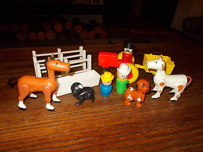 Vintage Fisher Price Little People Farm, Western Lot #3