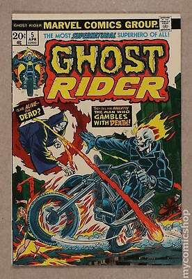 Ghost Rider (1st Series) #5 1974 FN+ 6.5