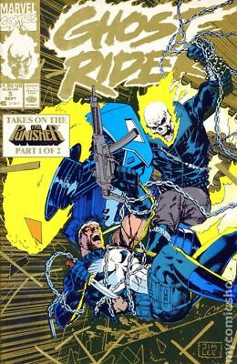 Ghost Rider (2nd Series) Gold Reprint #5 1990 FN Stock Image
