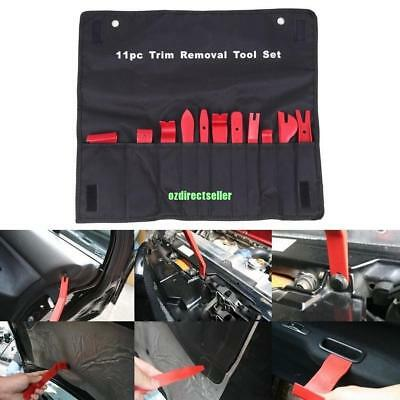 11pcs/Set Car Dash Moulding Trim Radio GPS Door Clip Panel Open Removal Tool
