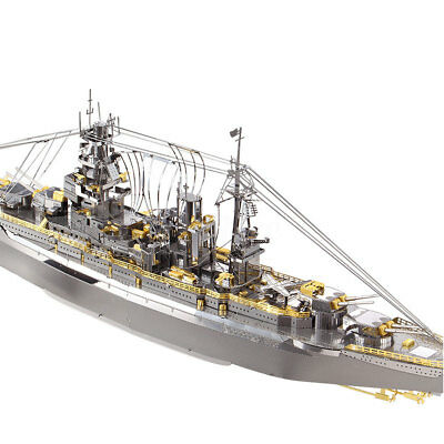 US Nagato Class Battleship 3D Metal Puzzle Assembly Model Puzzle Creative Toys