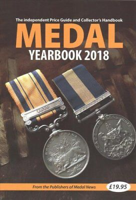 Medal Yearbook 2018 by John Mussell 9781908828385 (Paperback, 2017)
