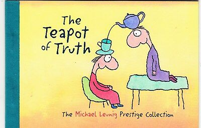 Australia 1998 Prestige Booklet - The Teapot Of Truth-Michael Leunig Collection