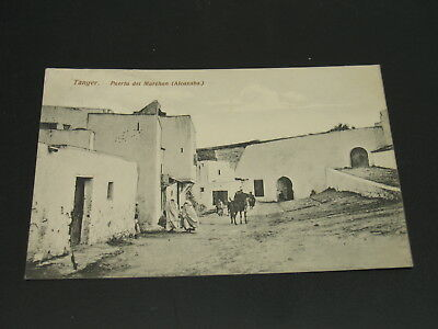 Morocco 1911 Tanger picture postcard to France *23321