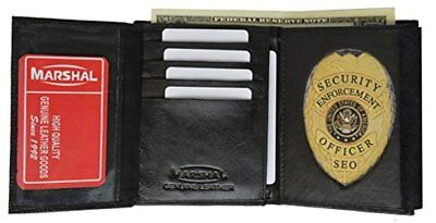 Genuine Leather Private Investigator Badge Wallet style - 2518ta