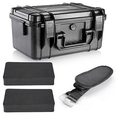 Neewer Water-resistant Storage Carrying Case for GoPro Hero4 Session 4 3+ 3 2 1