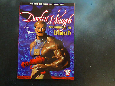 Devlin Waugh - Swimming in Blood - Graphic Novel - 2000AD