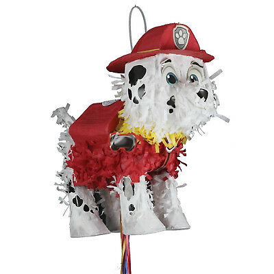 Paw Patrol Puppy Pets Marshall Children's Birthday Party Pull Pinata Game