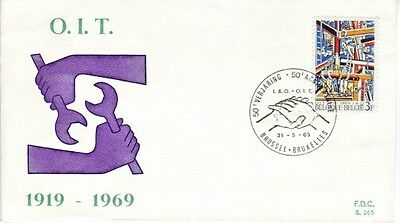 Belgium - Special Events, People & Anniversaries (2no. PO/Other  FDC's) 1963-69