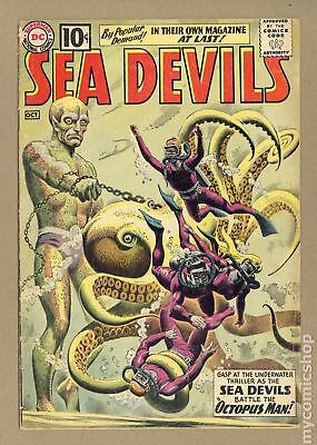 Sea Devils #1 1961 GD/VG 3.0