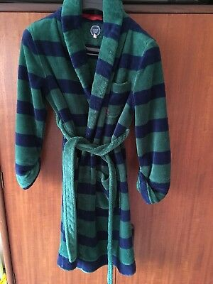 Joules Boys Dressing Gown Age 9 - 10 Years.