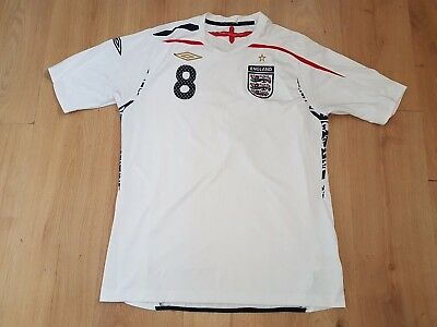 England (Frank Lampard) - Mens Home Football Shirt  - White - Size Large