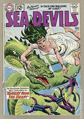 Sea Devils #3 1962 GD/VG 3.0