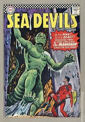 Sea Devils UK Edition #28UK 1966 VG+ 4.5