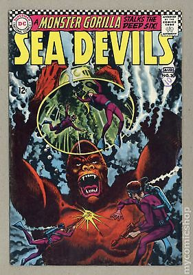 Sea Devils UK Edition #30UK 1966 VG 4.0