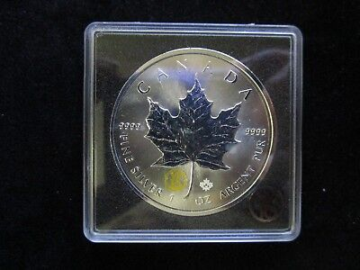 5 Dollars Kanada 2015,Maple Leaf, Privy Marke Ahornblatt,Silber