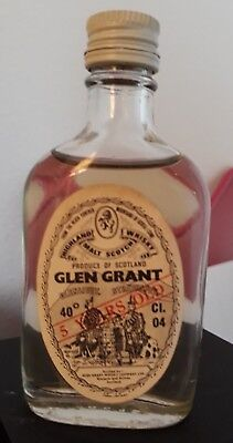 Mignon Miniature Malt Scotch Whisky Glen Grant 5 Years Old Cl. 4 Glenlivet