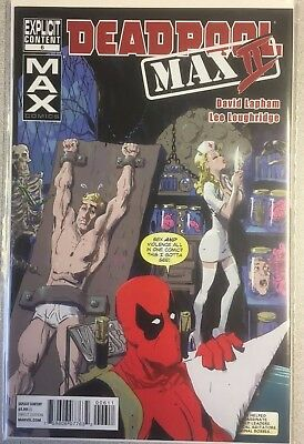Deadpool Max Ii Issue 6 First Print New Bagged And Boarded