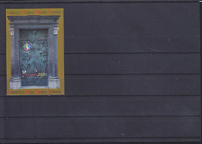 057301 Slovenija Block 10 ** MNH Year 2000
