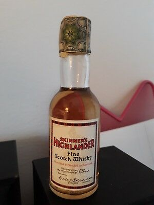 Mignon Miniature Fine Scotch Whisky Skinner's Highlander Deeside Distilling Co.
