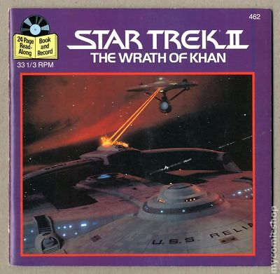 Star Trek II The Wrath of Khan Book and Record #462R 1983 FN+ 6.5