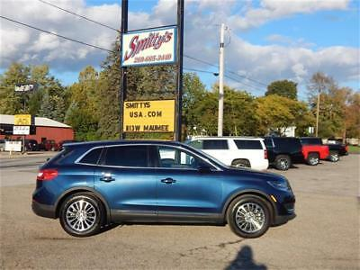 2017 Lincoln MKX Select 2017 LINCOLN MKX SELECT 3.7L FWD LEATHER 9K MILES WARRANTY CLEAN CARFAX CAMERA!