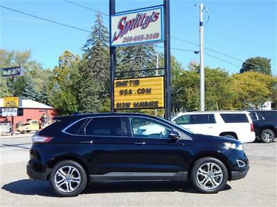 2017 Ford Edge Titanium AWD 2017 Ford Edge Titanium AWD SUV Leather Warranty Great Fuel MPG's Carfax Clean!!