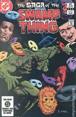 Swamp Thing (2nd Series) #16 1983 FN Stock Image