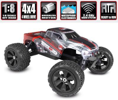 1/8 Scale New Redcat Terremoto V2 Brushless Electric 4x4 Monster RC Truck RTR