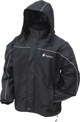 Frogg Toggs Toadz Highway Jacket Black X-Large