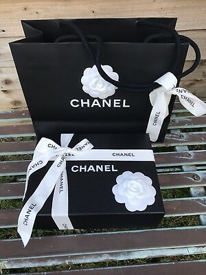 chanel box for small leather goods,carrier bag''gift wrapping''