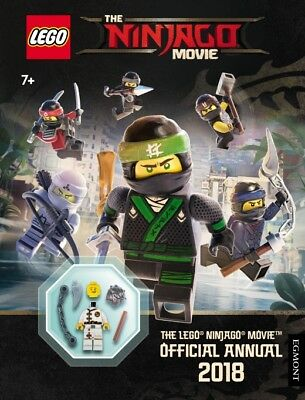 The LEGO (R) NINJAGO MOVIE: Official Annual 2018 HB (9781405287470) NEW