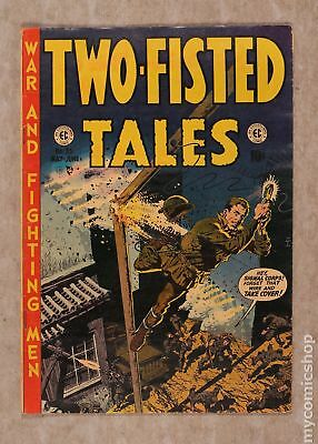 Two Fisted Tales (EC) #33 1953 VG+ 4.5