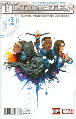 Ultimates (Marvel) #3A 2016 FN Stock Image