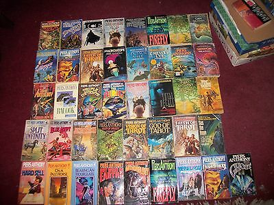 Piers Anthony lot of 53 Xanth tarot balook Xanth Incarnations Adepts Tarot