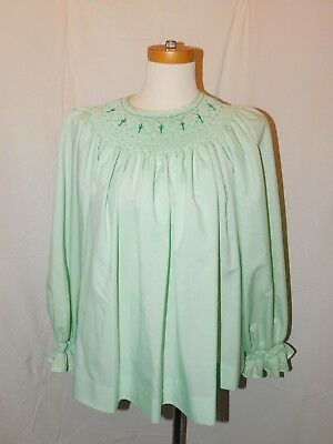 Vintage Adult Size Smocked Top - Looks Like Baby Clothes --