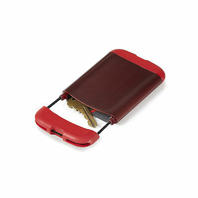 Umbra BUNGEE business card case/wallet RED 480565-505 NEW COLOR
