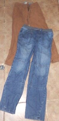 Lovely Boys Age 8-9 F&f Jeans And Fat Face Chino Trousers
