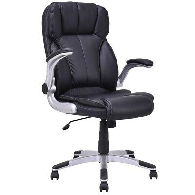 Office PU Leather High Back Executive Swivel Computer Chair Gaming Chair US